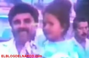 Filtran vídeo de El Chapo en fiesta de su ahijada en Nayarit