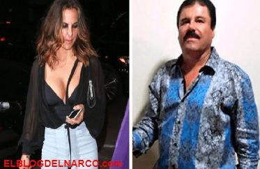 Que afloje, el inquietante deseo de Kate del Castillo con El Chapo