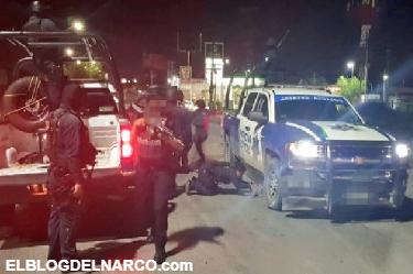 Sicarios del CDG Queman Coches y Ponen Bloqueos en Balacera Fronteriza