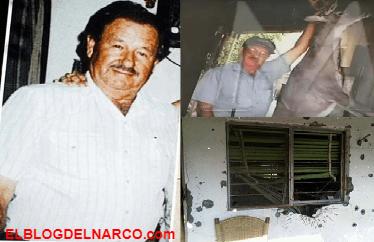 Cuando los marinos llegaron no pudieron creer que un solo hombre enfrento a 30 sicarios de Los Zetas