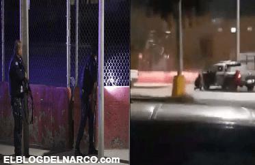 Sicarios atacan cuartel de la policía y así es como los policías repelen la agresión en Ciudad Juárez (VÍDEO)