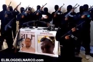 Vídeo donde hombre armado le envia mensaje para Andrés Manuel López Obrador