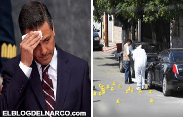 Dan brutal ejecución a secretario de exfuncionario que laboró con Peña Nieto