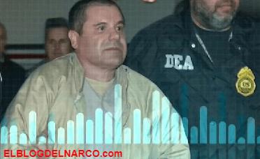 Reproducen segundo audio del Chapo negociando cargamento de heroína