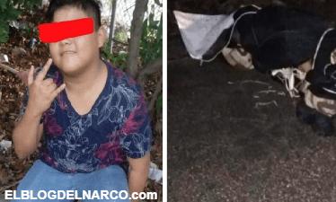 Dejan terrible narcomensaje tras ejecutar y encobijar a niño en Cancún