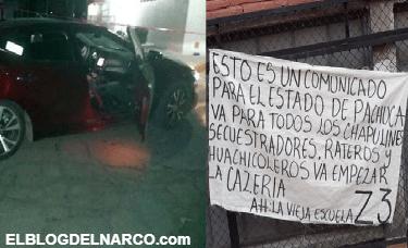 Ejecutan a líder huachicolero en Hidalgo, empieza la cacería decía narcomensaje de los Zetas Vieja Escuela para huachicoleros
