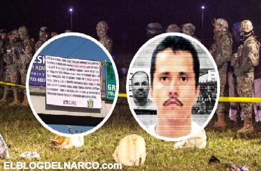 El Cartel Jalisco Nueva Generación manda temibles narcomensajes a Los Zetas tras explosión en Hidalgo