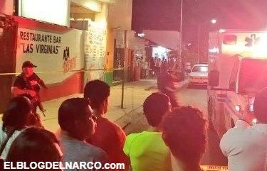 Narcoterrorismo, balacera ejecutan a 7 en Bar Cerca de Cancún