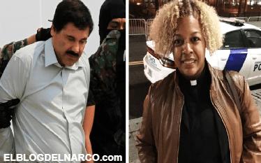 Nedy Fulgencio, la mujer que reza por El Chapo todos los días en la corte...