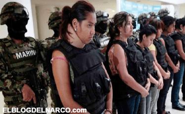 Para no trabajar, mujeres se unen al narco