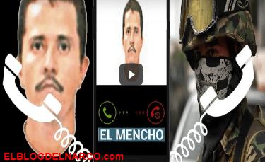 Se ponen al tiro o tu eres el primero que vas a marchar... filtran audio donde 'El Mencho' amenaza a mando de la policía