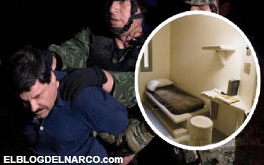 Conoce cómo luce la celda en la que El Chapo podría terminar su vida