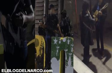 Creían que eran un convoy de sicarios pero en realidad traían armas de madera para participar en la grabación de un vídeo musical en Guamúchil, Sinaloa