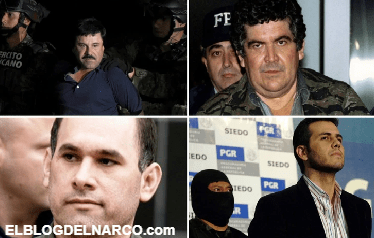 Estos son los históricos capos mexicanos que están presos en Estados Unidos