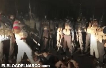 Vídeo donde Grupo Sombra descuartiza a cuatros con una hacha al estilo de los Zetas y manda mensaje a 'Chapulines'   Blog del Narco oficial   Narcotráfico   elblogdelnarco.com