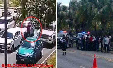 Exhiben filmación de ejecución en zona hotelera de Cancún, hay 3 muertos