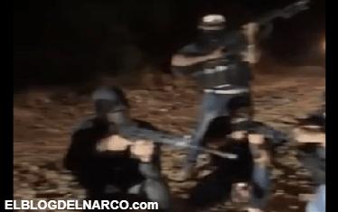 Vídeo fuerte donde el CJNG ejecuta en vivo con 2000 balazos a varios miembros de los Viagras