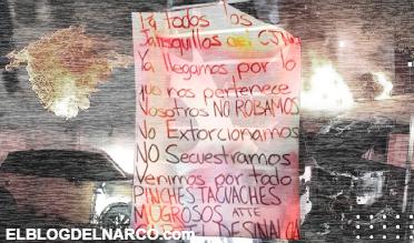 Cártel de Sinaloa advierte al CJNG con bombas molotov en Zapopan (IMÁGENES)