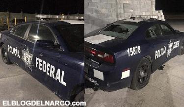 Comando armado ataca una base de la Policía Federal en carretera Reynosa-Monterrey