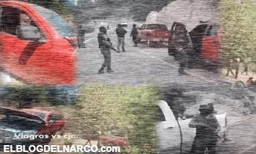 Difunden grabación de Los Viagras tras topón con el CJNG en Michoacán (VÍDEO)