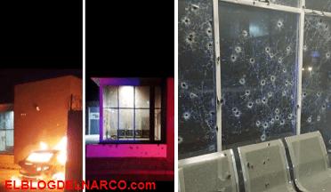 Difunden grabación del brutal ataque armado a comandancia en Chihuahua