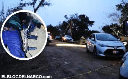 Difunden imágenes de sicarios ejecutados tras enfrentamiento en Veracruz