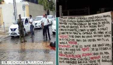 Ejecutan a comandante de la policía mencionado en narcomanta en México