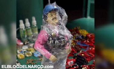 Enloquece Sinaloa con figura de acción de 'El Chapo' Guzman