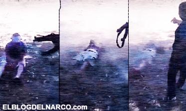Los Viagras difunden brutal vídeo acribillando a cómplice del Cártel Jalisco Nueva Generación