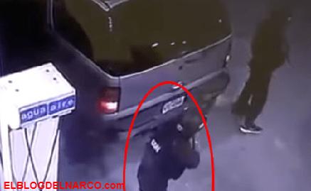 Captan convoy de sicarios del CDN cargando gasolina antes de un fuerte topón con policías (VÍDEO)