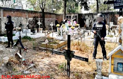 Huachicoleros ni a los muertos respetan, así operaban en un ¡cementerio! de la CDMX