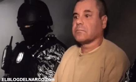 """El vídeo inédito de """"El Chapo"""" totalmente confundido ante las autoridades carcelarias de México"""
