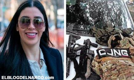 Emma Coronel señora de El Chapo manda amenaza a Los Rodolfos del CJNG por control de Xochimilco.