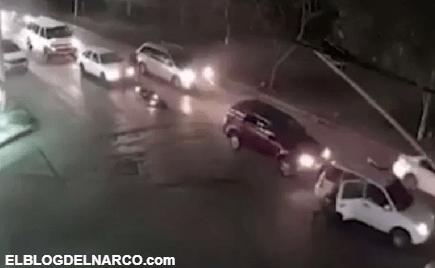 Sicarios atacan a policías, entre ellos una embarazada (VÍDEO)