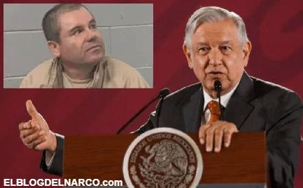 """AMLO pelea a EEUU dinero de """"El Chapo"""" Guzmán, se dice conmovido por reclusión inhumana"""