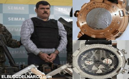El millonario reloj hecho con restos del Titanic y su relación con El Coss el sanguinario líder del CDG