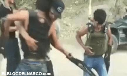 Entre balas, gritos y diversión, Jovenes Halconsillos empecherados del CDN se graban bailando y disparando mientras hacen vigilancia (Vídeo)
