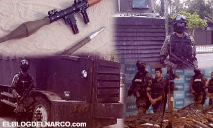 Lanzacohetes y narcotanques, las armas de los cárteles de droga en México