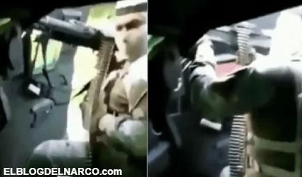 ¡Rocíalos, rocíalos!... imágenes muestran la ferocidad del CJNG durante la batalla en Tepalcatepec (vídeo)