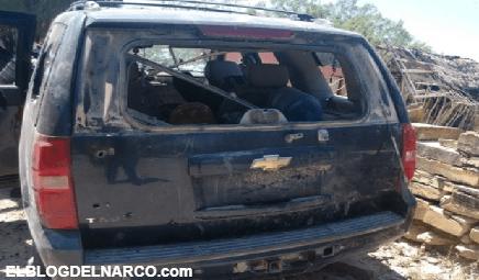 Cuatros Cuazitos del CDN mueren a balazos al intentar emboscar a policias de Fuerza Civil