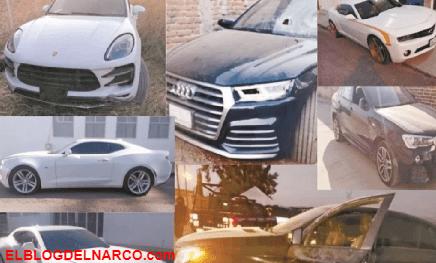 Autos de lujo, Pipas y hasta Ambulancias le han quitado al Marro líder Huachicolero del CSRL, en total 221 vehículos (Fotos)