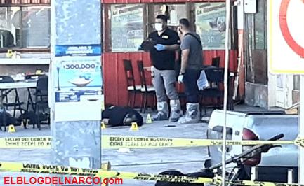 Sicarios ejecutan a Policías Ministeriales mientras comían taquitos en Chihuahua