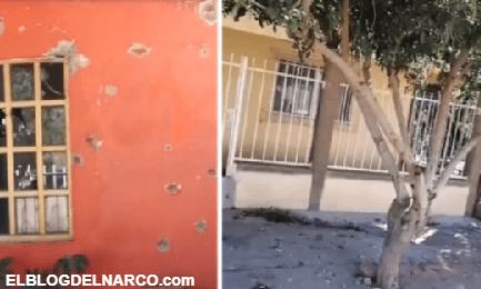 Convoy de sicarios de Los Salazar causaron pánico en Bácum, Sonora, Rafaguearon con AK-47 varias casas y autos del Ayuntamiento...