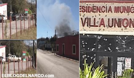 Horas de terror cimbran a Coahuila, Convoy de empecherados del CDN se topan con la SEDENA y policías en Villa Unión (VÍDEOS)