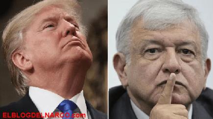 AMLO se enfrenta a la intención de Trump de declarar la guerra al narcotráfico...