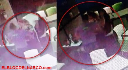 El siguiente Vídeo muestra que Laura Karen Espíndola no estuvo desaparecida, estuvo en un bar...