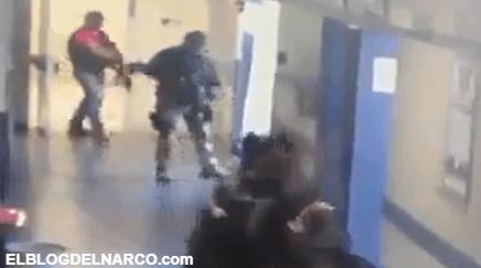 Terror en Guanajuato, sicarios entraron a hospital en Salvatierra para llevarse a un herido (VÍDEO)