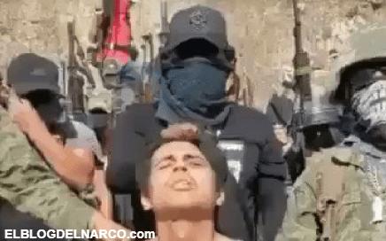 Vídeo donde el Grupo Comandante Zeta interroga, decapita y descuartiza a halcón en Guerrero