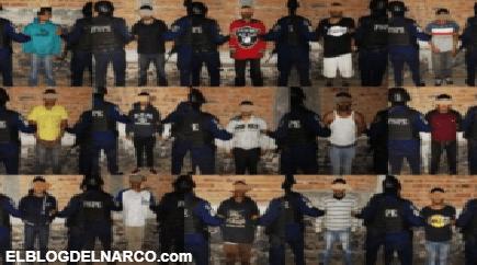 ¡Golpe al Marro! detienen a 29 peligrosos sicarios que ejecutaban para el líder huachicolero