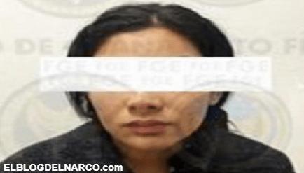 Capturan a Karina Mora esposa de José Antonio Yépez Ortiz El Marro en Celaya, Guanajuato